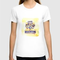 Vintage gadget series: Polaroid OneStep camera Womens Fitted Tee White SMALL