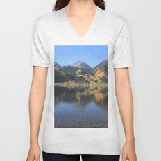 Twin Lakes, CO Unisex V-Neck