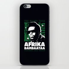 The Mighty Souls: Afrika Bambaataa iPhone & iPod Skin