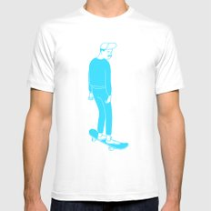 Norm Corps Mens Fitted Tee White SMALL