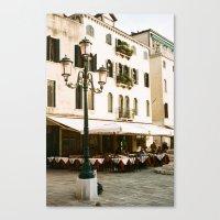 VENICE VII - STREET LIGHT Canvas Print