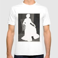God Save The Queen Mens Fitted Tee White SMALL