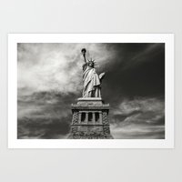 Statue of Liberty 1. Art Print