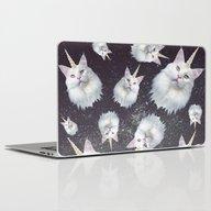 Unicorn Cat Laptop & iPad Skin
