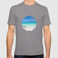 Moana Patitifa Mens Fitted Tee Tri-Grey SMALL