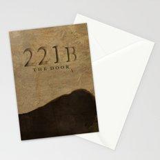 No. 6. 221B Stationery Cards