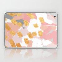 Neutral Golden Abstract Laptop & iPad Skin