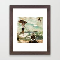 CLOUDWALKERS ONE Framed Art Print