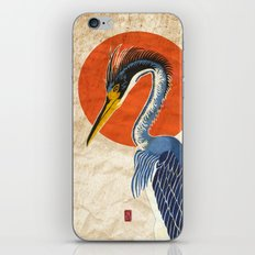 Japanese Crane iPhone & iPod Skin