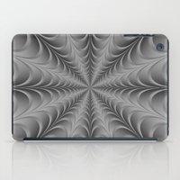 Silver Web iPad Case