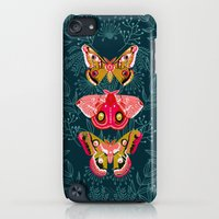iPod Touch Cases featuring Lepidoptery No. 4 by Andrea Lauren by Andrea Lauren Design
