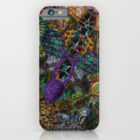 Psychedelic Botanical 12 iPhone 6 Slim Case