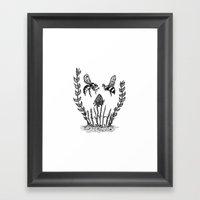 Beeloved Framed Art Print