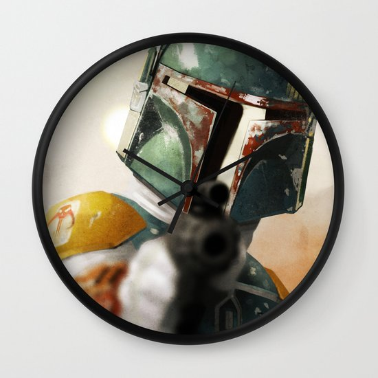 Boba Wall Clock