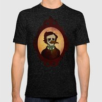 Prophets of Fiction - Edgar Allan Poe /The Raven Mens Fitted Tee Tri-Black SMALL