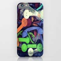 iPhone & iPod Case featuring Hello by Sir Harvey Fitz