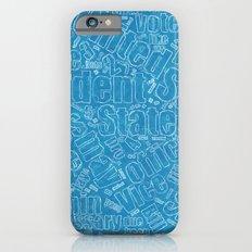 Constitutional Blueprint Slim Case iPhone 6s