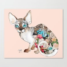 sphinx cat Canvas Print