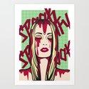 Spookify Art Print