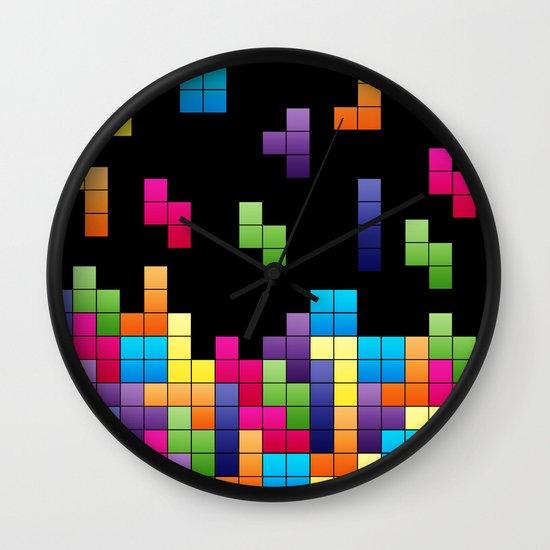 Tetris Troubles. Wall Clock