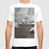 South Willowbrook Mens Fitted Tee White SMALL