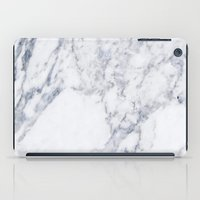 White Marble iPad Case