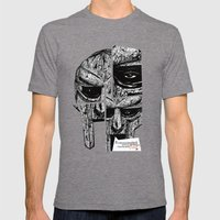 MF Doom Mens Fitted Tee Tri-Grey SMALL