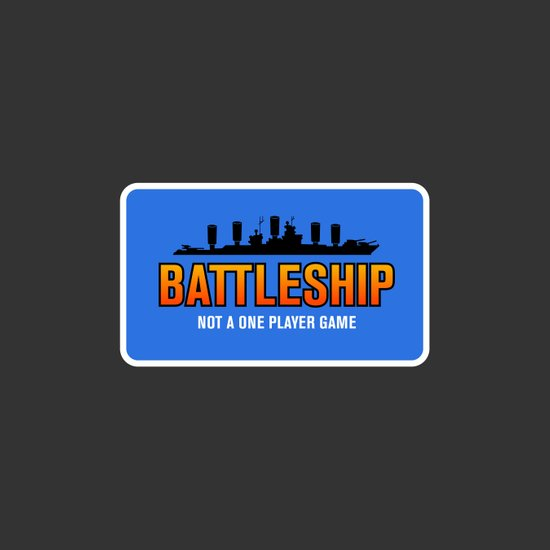 1 Player Battleship Art Print