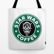 Star Wars Coffee (Darth Maul) Tote Bag