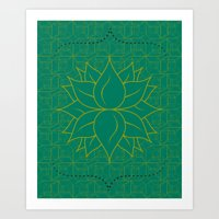 Infinite Hour Glass Art Print