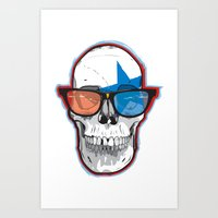 The 3D Star Punk Art Print