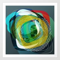 the abstract dream 24 Art Print