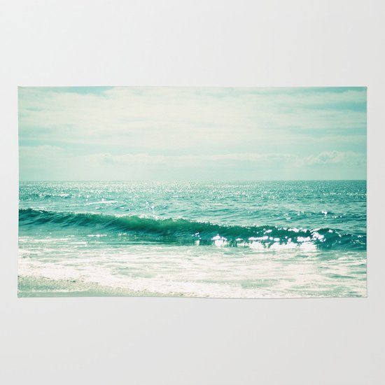 Sea of Tranquility... Area & Throw Rug