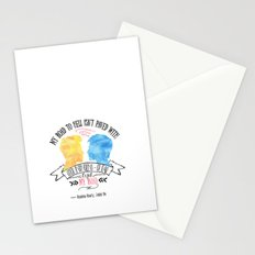 Carry On - Road To Hell Stationery Cards