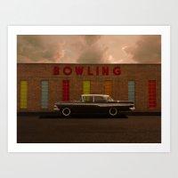 A Good Parking Spot For … Art Print