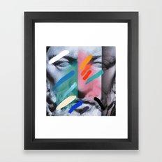 Composition On Panel 6 Framed Art Print