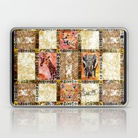 Quilted African Life. Laptop & iPad Skin