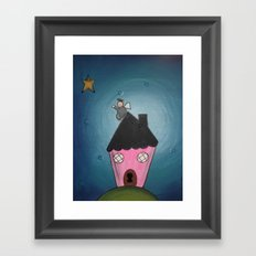 daydreaming Framed Art Print