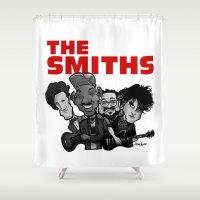 The Smiths (white Versio… Shower Curtain