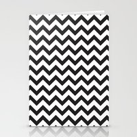 Classic Chevron Stationery Cards