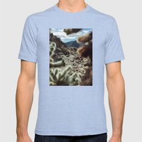 Cholla Frame Mens Fitted Tee Tri-Blue SMALL