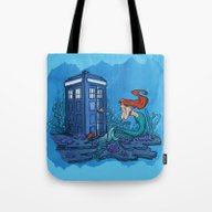 Tote Bag featuring Part Of Every World by Karen Hallion Illust…