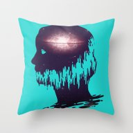 The World Forgetting By … Throw Pillow