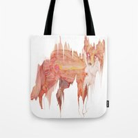 Remix Red Fox Tote Bag