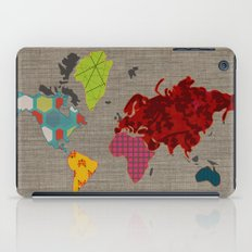 Simi's Map of the World iPad Case