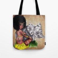 African Princess Tote Bag