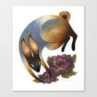 The Garden Thief Canvas Print