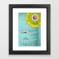 Spacecraft Framed Art Print