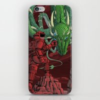 The Dragon On Mars iPhone & iPod Skin
