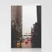 Griswold St - Detroit, M… Stationery Cards